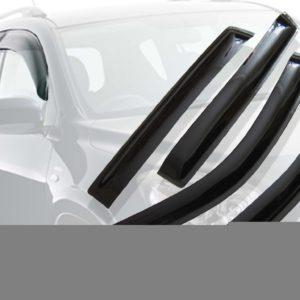 Дефлекторы окон (ветровики) CARLSTEELMAN MITSUBISHI L200 2015г-