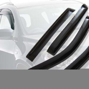 Дефлекторы окон (ветровики) CARLSTEELMAN MITSUBISHI LANCER 2007г- (седан)