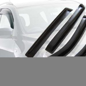 Дефлекторы окон (ветровики) CARLSTEELMAN PEUGEOT 208 2012г-(хетчбек)(на 2 двери)