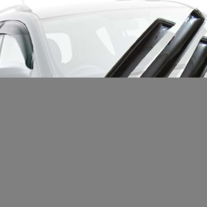 Дефлекторы окон (ветровики) CARLSTEELMAN SEAT IBIZA 2009г-(хетчбек)(на 4 двери)