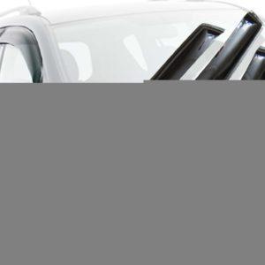 Дефлекторы окон (ветровики) CARLSTEELMAN TOYOTA VITZ, YARIS 2005-2009г (хетчбек)(на 2 двери)