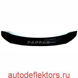 Дефлектор капота мухобойка Red на Volkswagen Passat B6 2005-2011