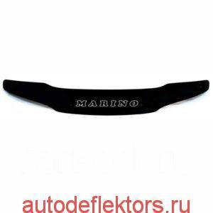 Дефлектор капота мухобойка RED на Toyota Sprinter Marino 1992-1997