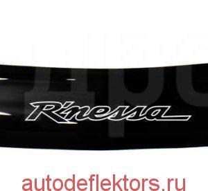 Дефлектор капота (мухобойка) RED на Nissan Rnessa 1997-2001