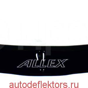 Дефлектор капота (Мухобойка) RED Toyota Allex 2003-2006