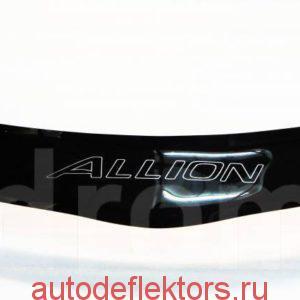 Дефлектор капота мухобойка RED Тойота Алиион 240
