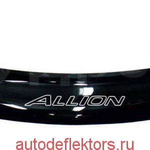 Дефлектор капота (Мухобойка) RED Toyota Allion T260 2007-н