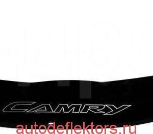 Дефлектор капота мухобойка Тойота Камри 2006, 2007, 2008, 2009, 2010, 2011, 2012