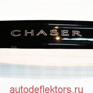Дефлектор капота (Мухобойка) RED Toyota Chaser X100 1996-2001