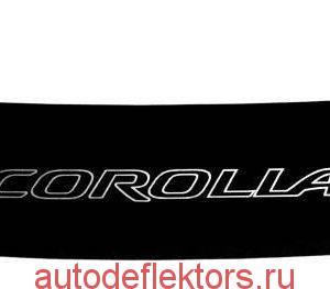 Дефлектор капота (Мухобойка) RED Toyota Corolla E100 1991-2002