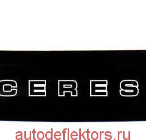 Дефлектор капота (Мухобойка) RED Toyota Corolla Ceres E100 1992-1999