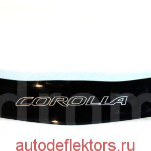 Дефлектор капота (Мухобойка) RED Toyota Corolla E150 2007-2013