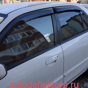 Дефлекторы окон ветровики Мазда Фамия 1997-2003 седан