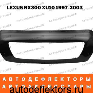 Дефлектор капота (мухобойка) RED на Lexus 300 XU10 1997-2003 с рамкой