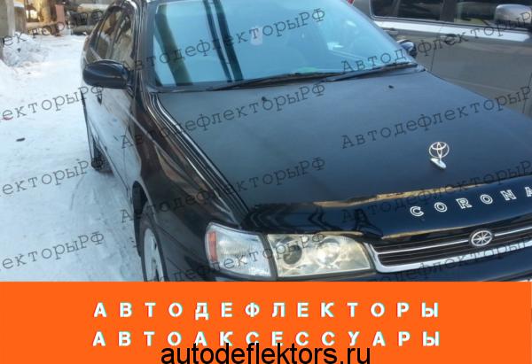 Дефлекторы окон (ветровики) на Toyota Corona (T190), Carina E 92-97 сед