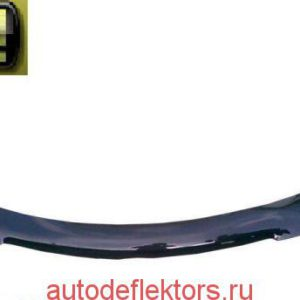 Дефлектор капота SIM на Chevrolet Epica, 06-12, темный арт. SCHEPI0612