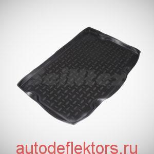 Коврик в багажник SEINTEX на SUZUKI SX4 hatchback (нижнее положение) 2009-2014
