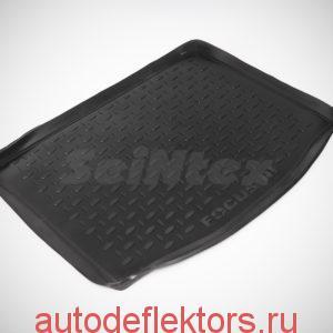 Коврик в багажник SEINTEX на FORD FOCUS III hatchback 2011-2015