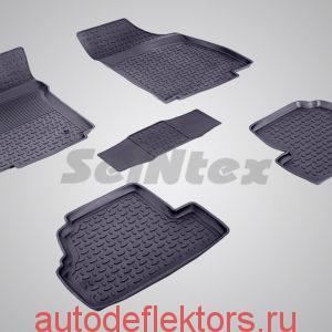 Ковры резиновые в салон с высоким бортом OPEL MOKKA 2012-