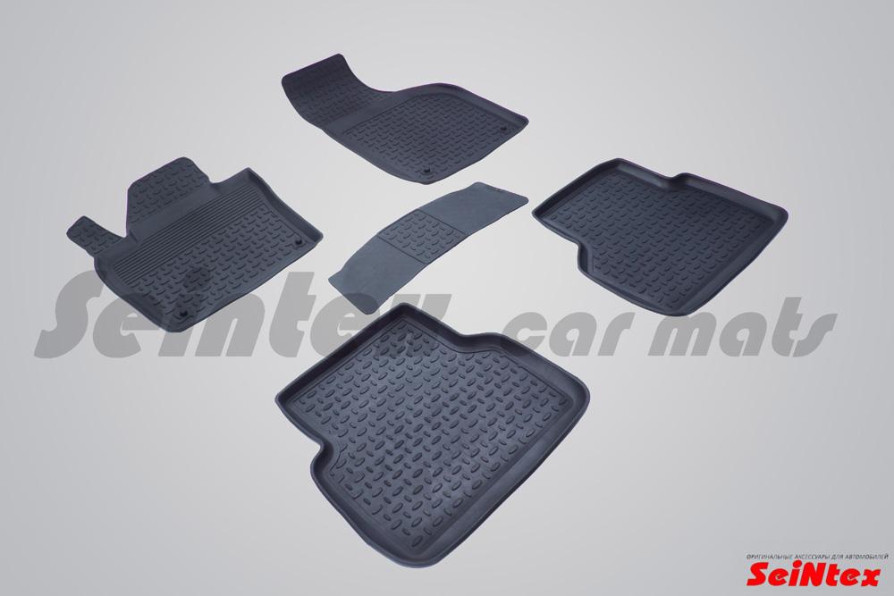 Ковры резиновые в салон с высоким бортом AUDI Q3 2010-