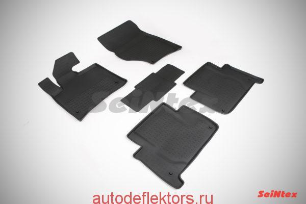 Ковры резиновые в салон с высоким бортом AUDI Q7 2005-2015