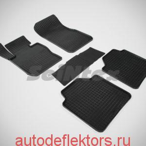 """Ковры резиновые в салон """"Сетка"""" на BMW 3 Ser F-34 GT 2011-"""
