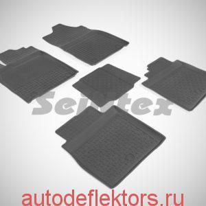 Ковры резиновые в салон с высоким бортом LEXUS ES VI 2012-