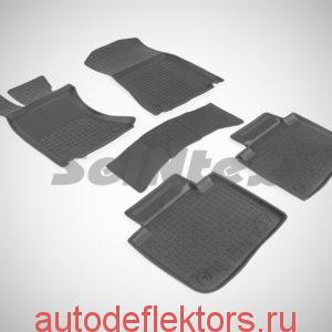 Ковры резиновые в салон с высоким бортом LEXUS GS IV AWD 2015-