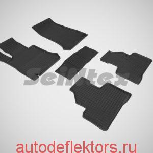 "Ковры резиновые в салон ""Сетка"" на MERCEDES -BENZ GLC-Class X253 Coupe 2016-"