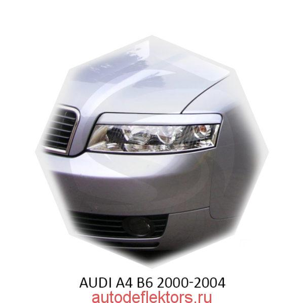 Реснички на фары Audi A4 B6 2000-2004