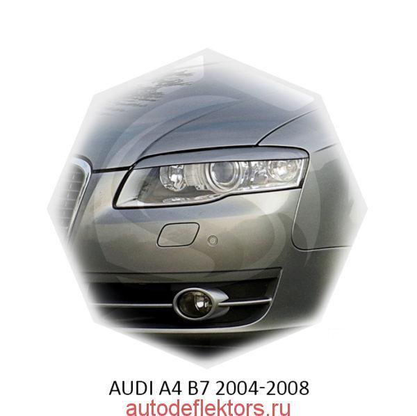 Реснички на фары Audi A4 B7 2004-2008