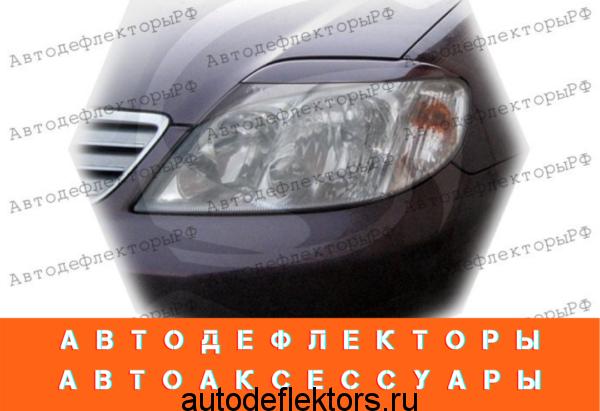 Реснички на фары для TOYOTA COROLLA 120 2000-2006г (седан)
