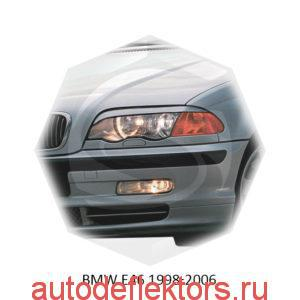 Реснички на фары BMW E46 1998-2006