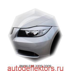 Реснички на фары BMW E90 2005-2009