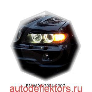 Реснички на фары BMW X5 2004-2007