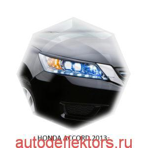 Реснички на фары Honda ACCORD 2013-