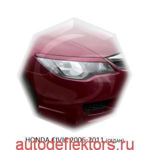Реснички на фары Honda CIVIC 2006-2011 (седан)