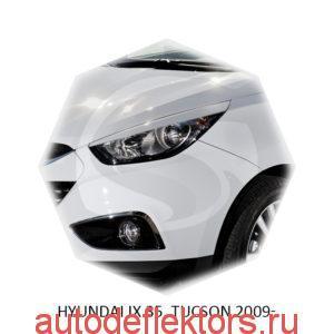 Реснички на фары Hyundai IX 35, TUCSON 2009-