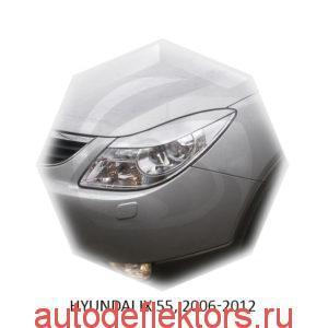 Реснички на фары Hyundai IX 55, 2006-2012