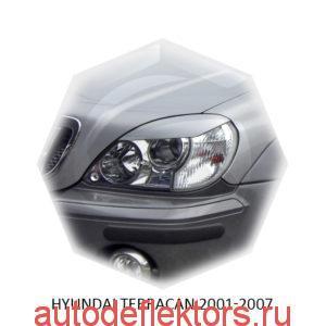Реснички на фары Hyundai TERRACAN 2001-2007