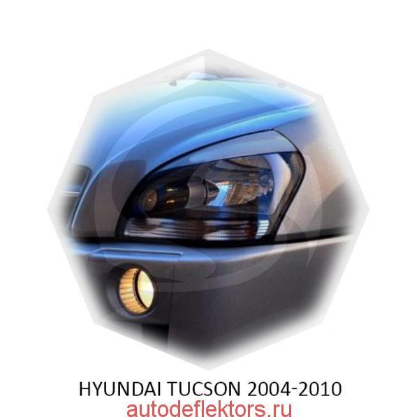 Реснички на фары Hyundai TUCSON 2004-2010