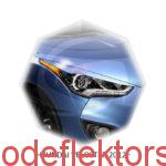 Реснички на фары Hyundai VELOSTER 2012 -