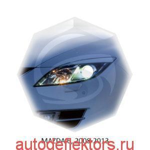 Реснички на фары Mazda 6, 2008-2013