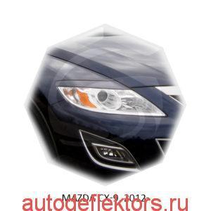Реснички на фары Mazda CX-9, 2012-