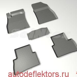Ковры резиновые в салон с высоким бортом NISSAN JUKE 2011-