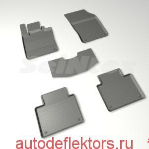 Ковры резиновые в салон с высоким бортом VOLVO S90 II 2016-