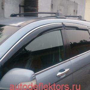 Дефлекторы окон ветровики Хонда ЦРВ 2006-2012 Mugen Style