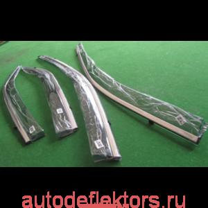Дефлекторы окон (ветровики) Honda CRV 17-