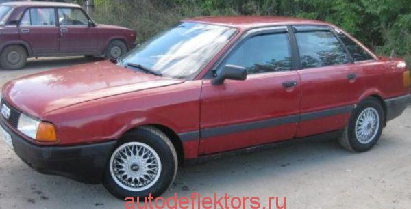 Audi 80 Sd (B3/B4) 1986-1995 дефлекторы окон (ветровики) Cobra-Tuning