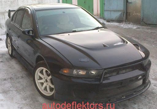 Mitsubishi Galant VIII Sd 1996-2003/Aspire Sd 1996-2003 дефлекторы окон (ветровики) Cobra-Tuning
